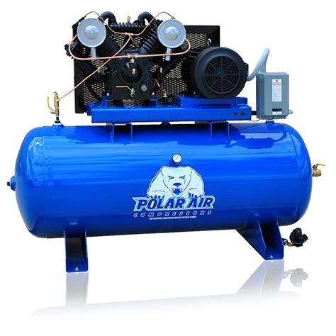 10 Hp Air Compressor Single Phase - 10 hp air compressor v4 single phase 80 gallon tank