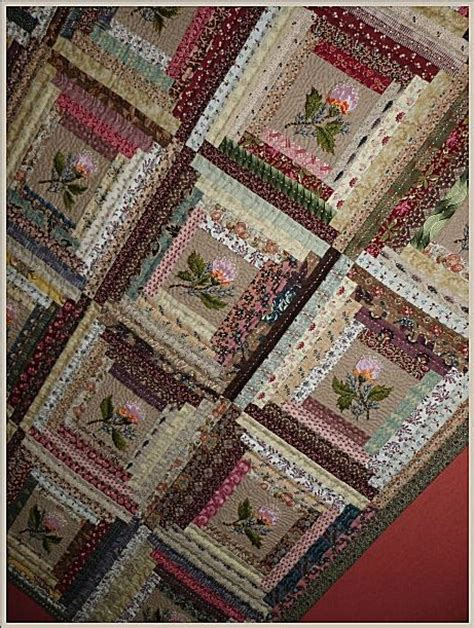 The Log Cabin Quilt by Log Cabin Quilts Log Cabins And Logs On