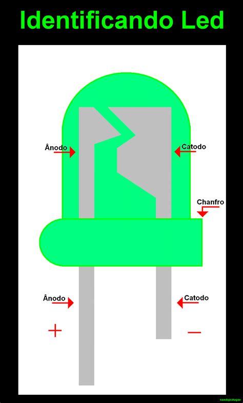 resistor led positivo ou negativo 28 images como acender um led tr 243 niquices led