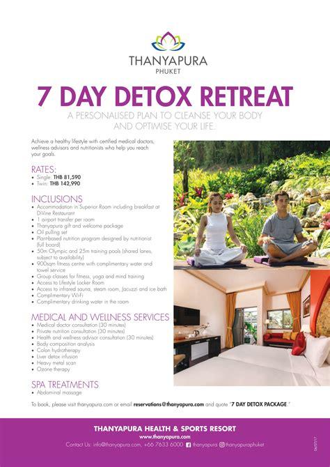 Detox Program In The Philippines by 2017 Promotion 7 Day Detox Program 1 Phuket E Magazine