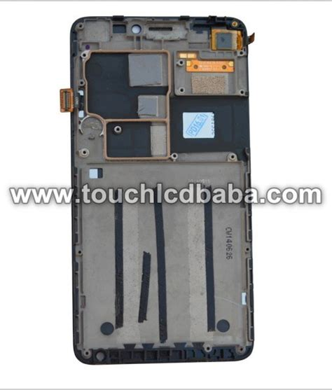Lcd Set Frame Lenovo S 930 lenovo s850 lcd display with touch screen digitizer glass combo with frame touch lcd baba
