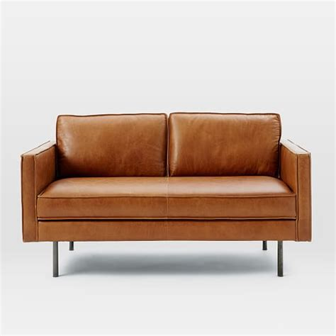 elm leather sofa axel leather sofa elm