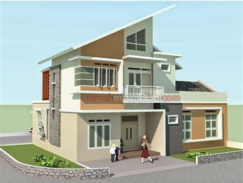 desain rumah hook minimalis desain rumah minimalis 2 lantai di hook gambar foto