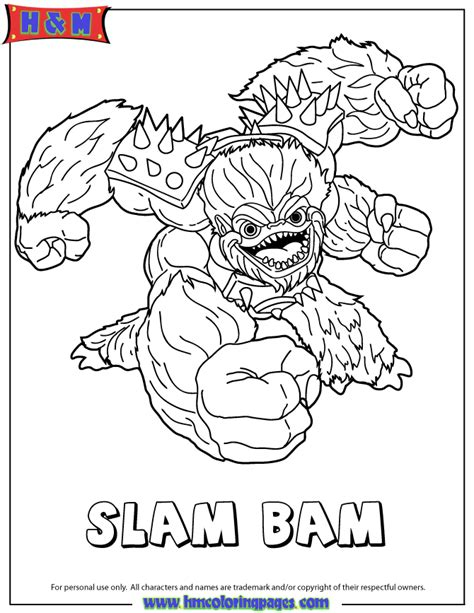 free coloring pages of skylander terrafin