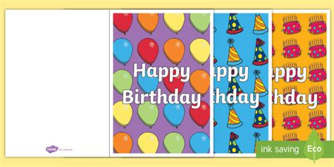 early birthday card template birthday card writing template blank editable card templates