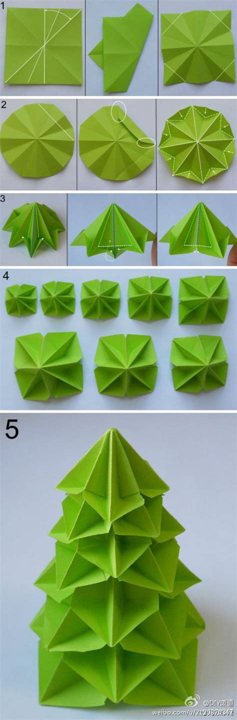 How To Fold Paper Into A Tree - 17 best images about paper crafts on make