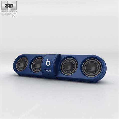 Beats Pill 2 0 beats pill 2 0 wireless speaker blue 3d model humster3d