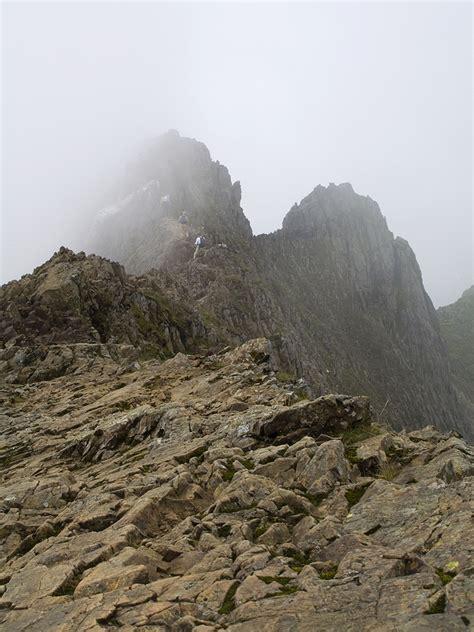 Crib Goch by Crib Goch Scramble Up Snowdon From Pen Y Pass Walk Up