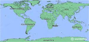 Mauritius On World Map by Where Is Mauritius Where Is Mauritius Located In The