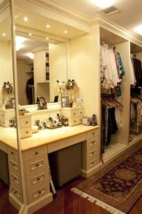 Makeup Vanity In Closet School House Master Walk In Closet Make Up Table