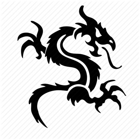 tattoo icon png animal celtic dragon fire tattoo icon icon search engine