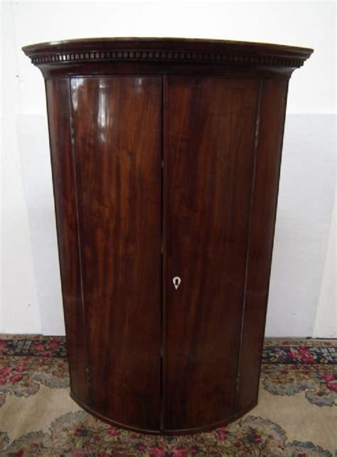 Cabinet Corner Ivory Mahogany Tp002 sale george iii mahogany bow front corner cabinet 127674 sellingantiques co uk