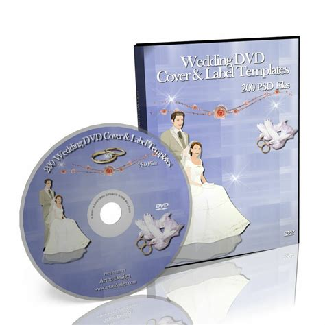 200 Wedding Dvd Cover Label Templates Ebay Ebay Cover Photo Template