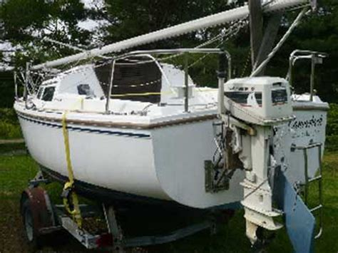 catalina 22 swing keel for sale catalina 22 swing keel 1986 maine sailboat for sale