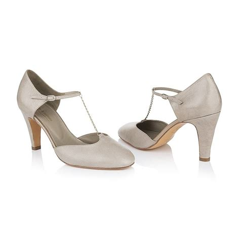evie leather t bar shoes by agnes norman