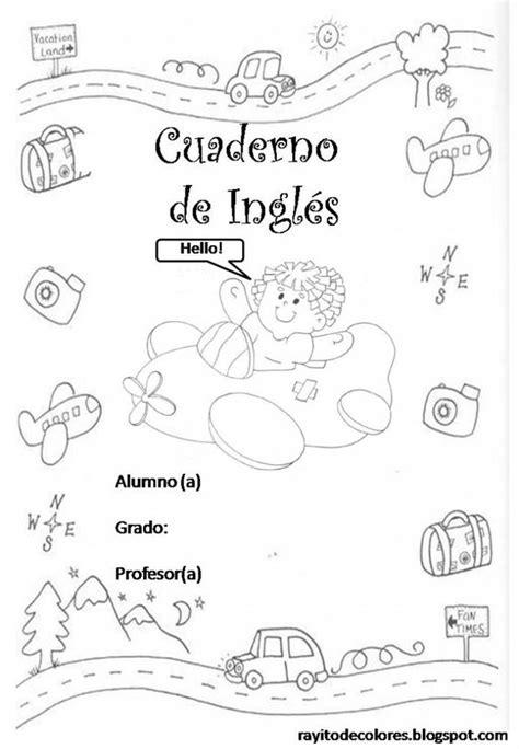 imagenes de libretas escolares portadas libretas creativas colorear cuadernos preescolar
