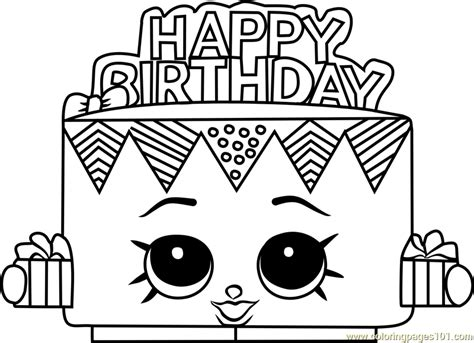 Shopkins Coloring Pages Birthday | birthday betty shopkins coloring page free shopkins