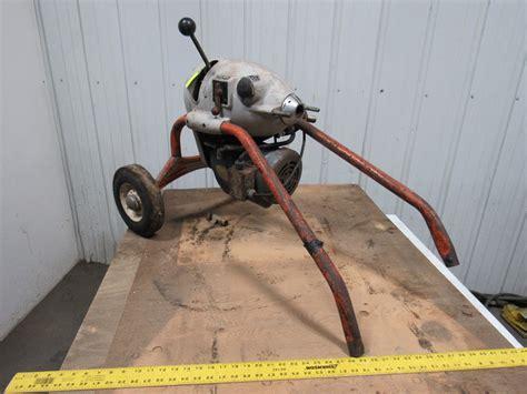 RIDGID KOLLMANN KM 1500 1/2HP Electric Power Snake Drain Cleaner 115 208/230V1Ph   eBay