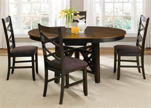 bistro ii oval extendable pedestal dining room set from