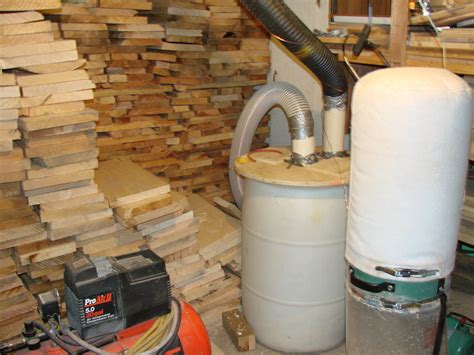 woodworking dust collection systems dust collection system by kodiak lumberjocks