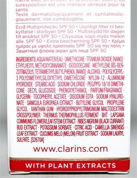 Clarins Uv Plus Anti Pollution Ecran Multi Protection Spf50pa 50ml 2 clarins uv plus anti pollution ecran multi protection spf