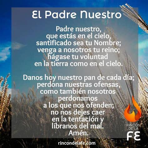 la biblia de nuestro 8427129726 best 25 el padre nuestro oracion ideas on padre nuestro biblia la hija de dios and