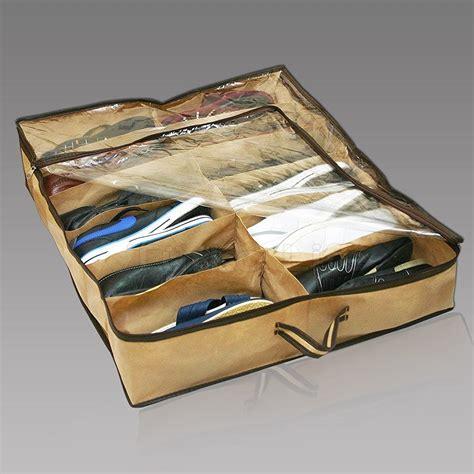 underbed shoe storage organizer 12 pairs bed shoe storage organizer
