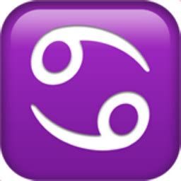 emoji is cancer cancer emoji u 264b u fe0f