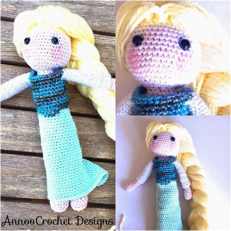 amigurumi elsa pattern free elsa crochet doll free tutorial annoos crochet world