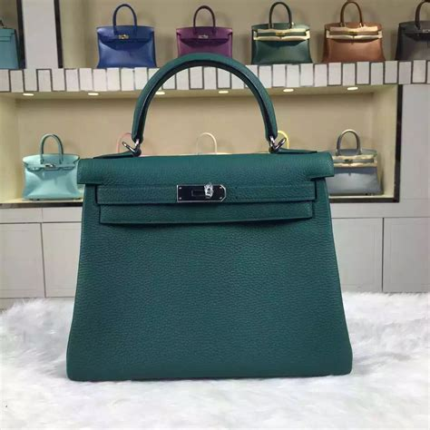 Tas Bag H3rmes Togo Semprem discount hermes z6 malachite green togo leather bag28cm hermes crocodile birkin bag
