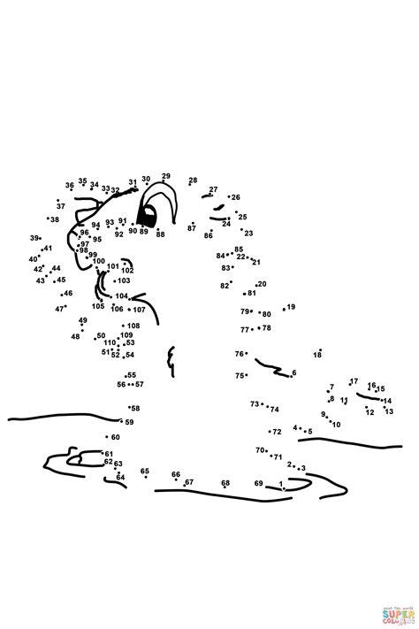 groundhog dot  dot  printable coloring pages