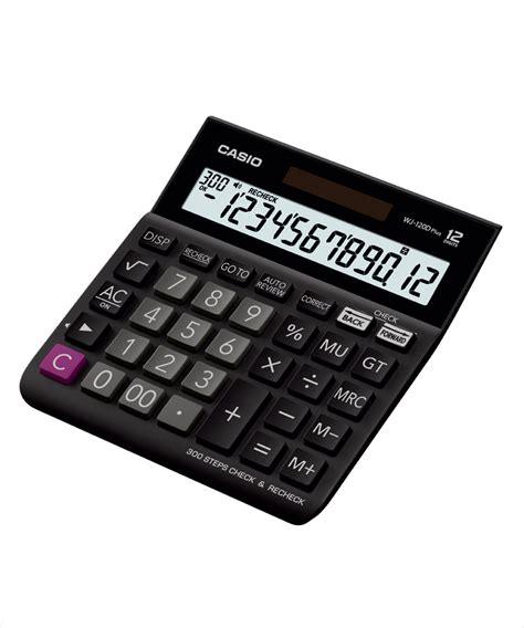 Casio Kalkulator Jj 120d Plus casio wj 120d plus desktop calculator available at