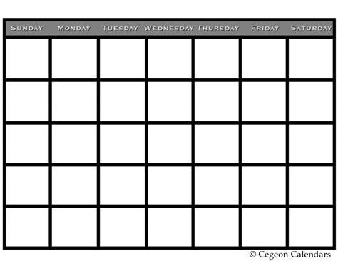 calendar template for drive formatted blank calendar pdfs print blank calendars