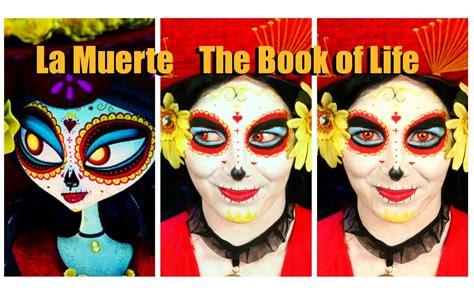 book  life la muerte makeup  costume tutorial