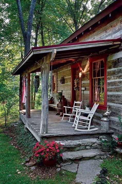 log cabin porch dreams decor pinterest diy rustic cabin porch make mine rustic pinterest