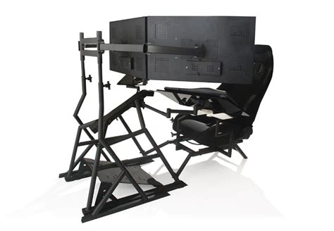 Ergonomic Gaming Desk R3volution Gaming Cockpit Pc Gaming Desk Obutto