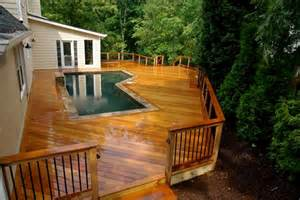 Backyard Barbecue Design Ideas Triyae Com Pictures Of Beautiful Backyard Decks