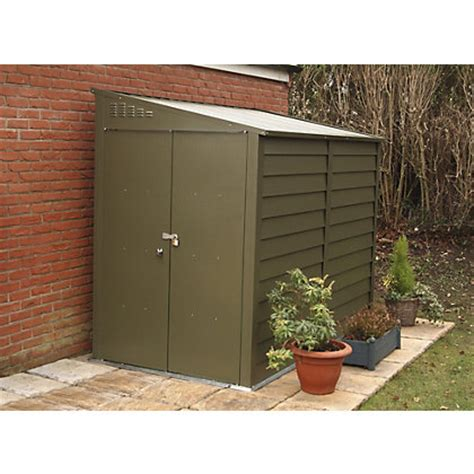 Motorbike Lock Up Shed by Trimetals High Security Motorbike Shed 9x5ft