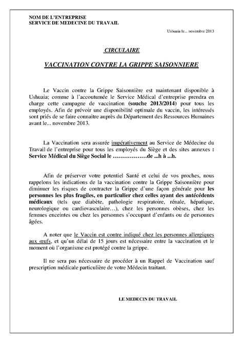 Exemple De Lettre Note D Information Exemple De Note D Information Au Personnel