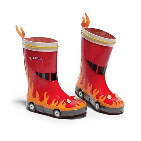 fireman boots children infant and toddler boots fireman design