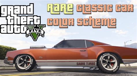 gta 5 classic car color scheme gta 5 color paint