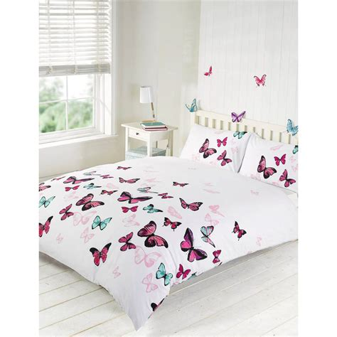 butterfly bedding sets butterfly double duvet set 288860 b m