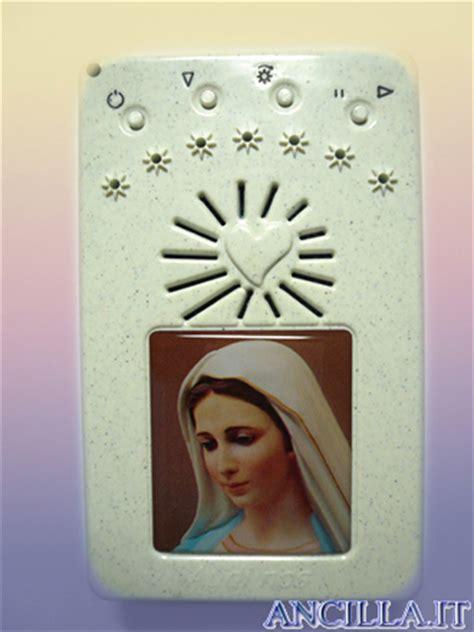 madonna di medjugorje che si illumina rosario elettronico madonna di medjugorje