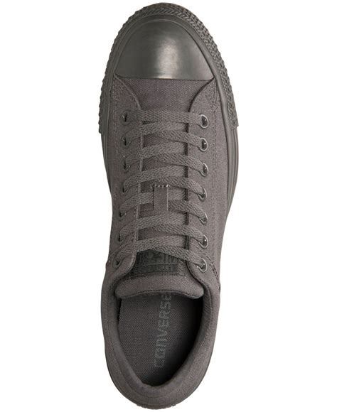 Converse Casual Grey converse s chuck ox casual sneakers from