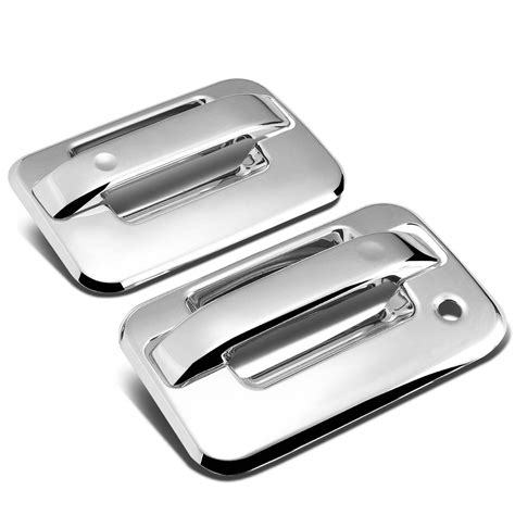 Front Door Handle With Keypad 04 14 Ford F150 2dr 2pcs Exterior Door Handle Cover No
