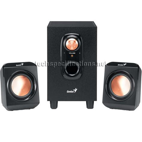 Speaker Genius genius sw u200 pc speakers tech specs