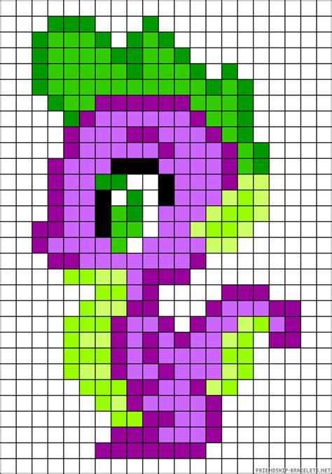 my pony perler bead patterns my pony spike perler bead pattern http