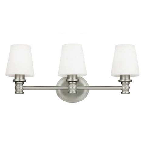 satin nickel bathroom light fixtures savoy house satin nickel three light bath fixture on sale