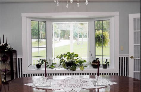 Bay Window In Dining Room by Bay Windows Affordable Sliding Door Inc