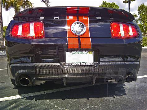 2010 Mustang Rear Valance 2010 2012 Mustang Trucarbon Rear Diffuser 10025 Lg58